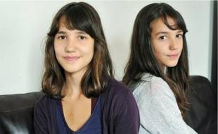 Ces jumelles de 15 ans devaient entrer en seconde hier, mais elles n'ont pas pu.