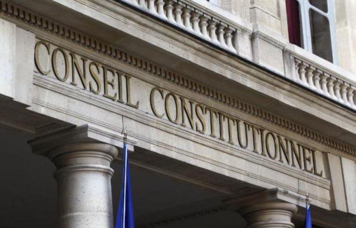 Le fronton du Conseil constitutionnel à Paris – Thomas Samson AFP