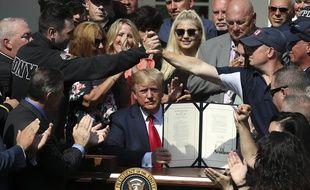 Lundi 29 juillet, Donald Trump a ratifié la loi sur l'indemnisation des victimes du 11-Septembre.