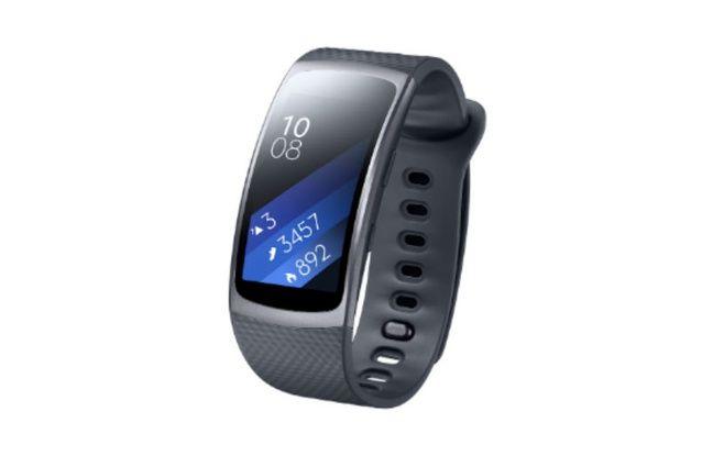 Le Gear Fit 2 de Samsung.