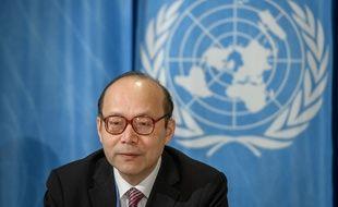 Chen Xu, l'ambassadeur de Chine à l'ONU.