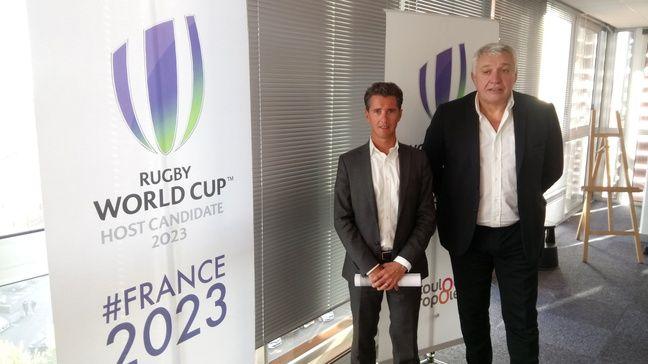 Vincent Terrail-Novès et Claude Atcher au siège de Toulouse Métropole, le 2 octobre 2018.