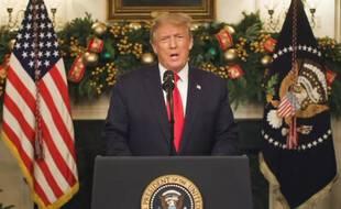 Donald Trump, le 22 décembre 2020 à la Maison Blanche.