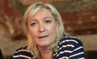 Marine Le Pen, le 18/05/2015.Credit:WITT/SIPA/
