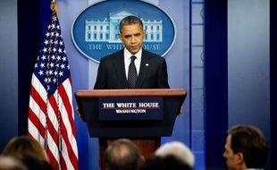 """Le président américain Barack Obama a jugé lundi """"choquantes"""" les déclarations faites par un élu républicain du Missouri, Todd Akin, qui a affirmé qu'une femme tombait rarement enceinte à la suite d'un """"véritable viol""""."""