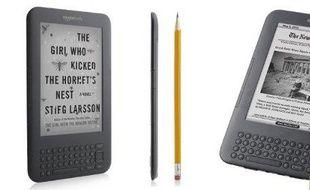 Le Kindle Wifi, disponible depuis le 29 juillet 2010
