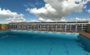 Le bassin de 50 m x 25 m accueillera les nageurs de l'Olympic Nice Natation.