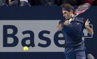 Roger Federer à Bâle le 1er novembre 2015.