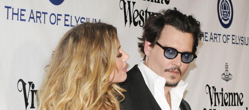 Les ex-époux Amber Heard et Johnny Depp.