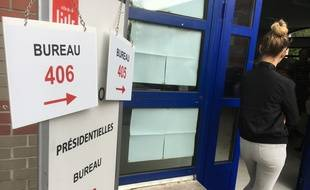 Vote à Lille le 23 avril 2017