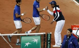 La doublette Mahut-Herbert s'impose contre la Serbie en demie de Coupe Davis.