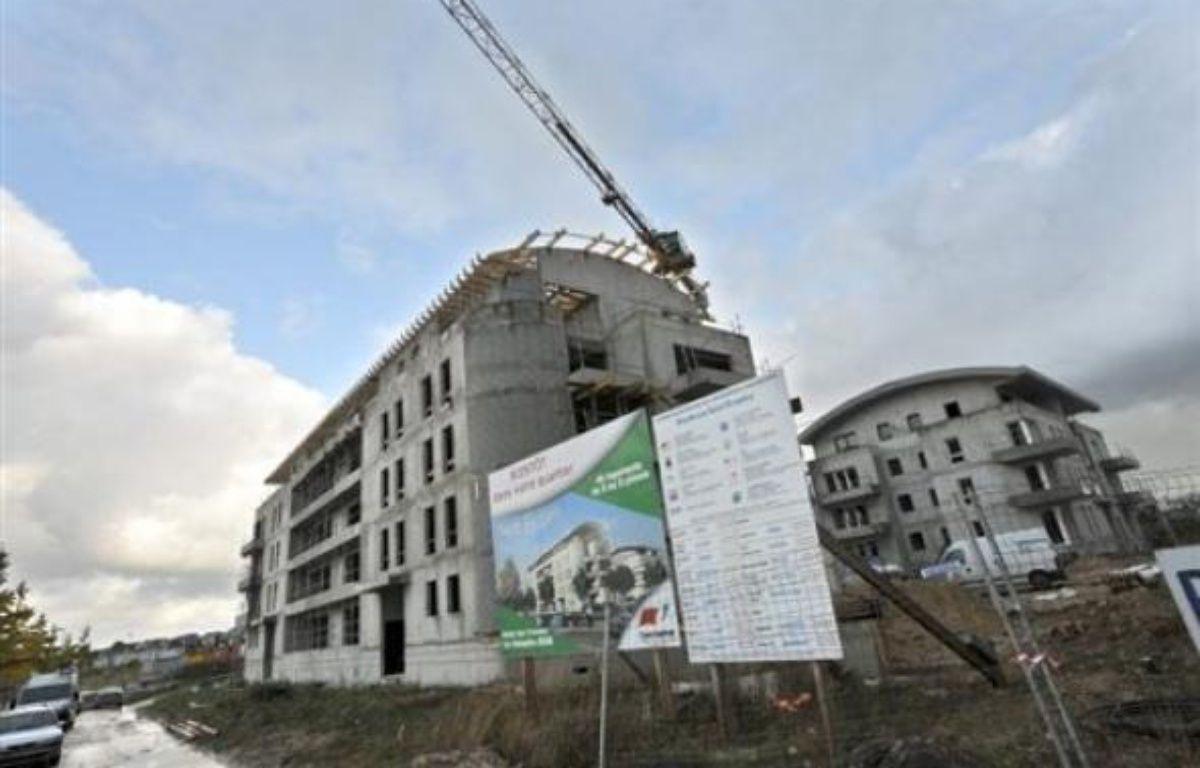 Les mises en chantier de logements en France ont reculé de 22,1% entre décembre 2008 et février 2009, comparé à la même période un an plus tôt, a annoncé mardi le ministère de l'Ecologie. – Mychèle Daniau AFP/Archives