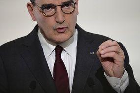 Le Premier ministre Jean Castex lors d'une conférence de presse en mars 2021.