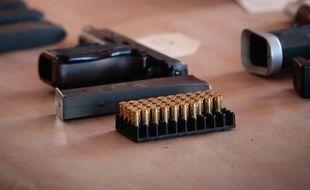 Des armes saisies par la police marseillaise (photo d'illustration).
