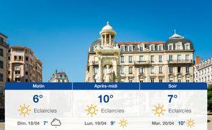 Météo Lyon: Prévisions du samedi 17 avril 2021