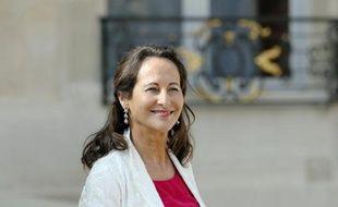 Ségolène Royal, ministre de l'Ecologie, le 10 septembre 2014 à l'Elysée, à Paris