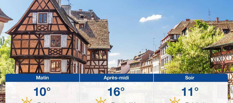 Météo Strasbourg: Prévisions du lundi 25 octobre 2021