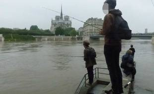 Illustration de pêcheurs.