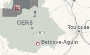 Le corps calciné a été découvert sur la commune de Betcave-Aguin, dans le Gers.