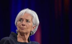 La directrice du FMI Christine Lagarde, le 6 mai 2015, à Washington