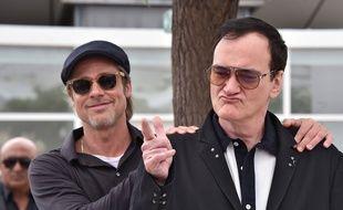 Brad Pitt, heureux maître de la chienne Brandy dans Once upon a time in Hollywood de Tarantino