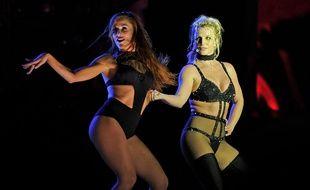La chanteuse Britney Spears à la Pride de Brighton en 2018