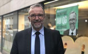Etienne Blanc, candidat LR à la ville de Lyon. C. Girardon / 20 Minutes