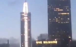 Le «météore» qui a surpris tous les habitants de Los Angeles jeudi 21 mars 2019.