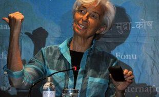La directrice du FMI Christine Lagarde à Rio de Janeiro, le 22 mai 2015