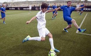 Le fils de Zinédine Zidane, Enzo Zidane, lors d'un match à Aix en Provence, le 23 juin 2011.