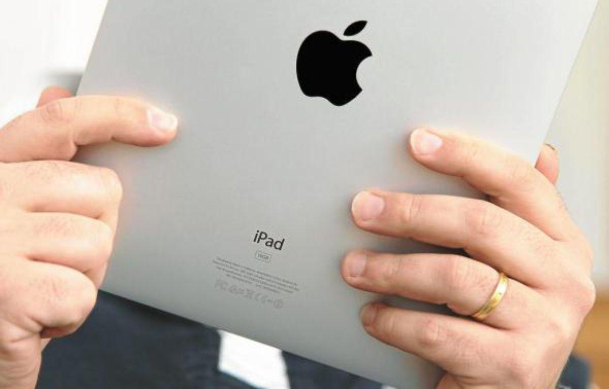 L'iPad d'Apple est la tablette tactile la plus vendue au monde. –  D. CLOSON / ISOPIX / SIPA