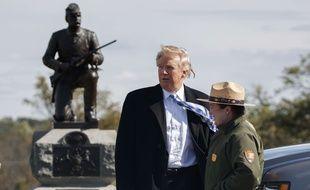 Le candidat républicain Donald Trump à Gettysburg (Pennsylvanie), le 22 octobre 2016