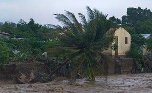 L'ouragan Sandy a provoqué d'importantes montées des eaux, comme ici à Port-au-Prince (Haïti), le 26 octobre 2012.