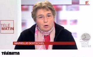 Marielle Goitschel, ex-championne olympique de ski.