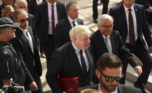 Jean-Claude Juncker et Boris Johnson