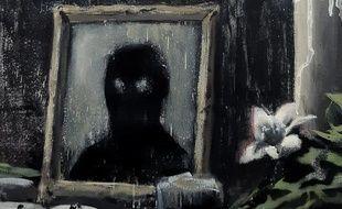 L'artiste Banksy a dévoilé ce samedi une oeuvre en hommage à George Floyd.