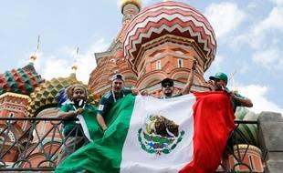 Les supporters mexicains sont venus en nombre en Russie.
