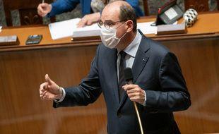 Le premier ministre Jean Castex, ici à l'Assemblée nationale.
