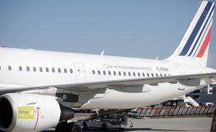 Illustration d'un avion Air France