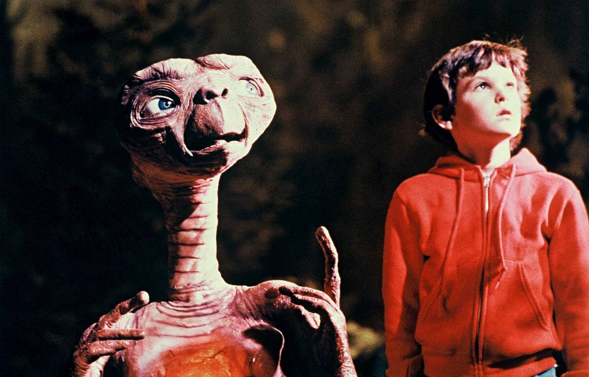 Film E.T. de Steven Spielberg.  –  WEBER ANITA/SIPA