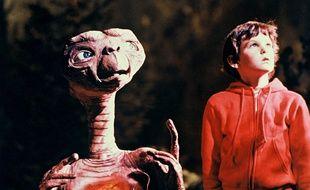 Film E.T. de Steven Spielberg.