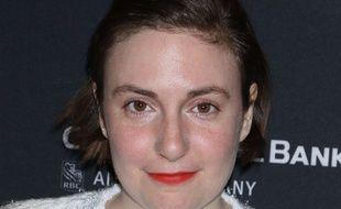 Lena Dunham, le 30 mai 2018 à une avant-première à New-York.