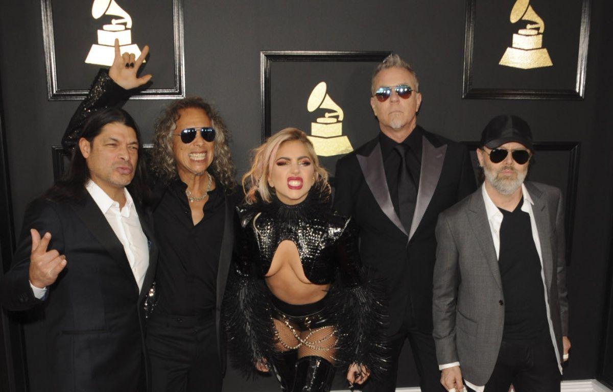 Lady Gaga et Metallica aux Grammy Awards – WENN