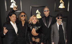 Lady Gaga et Metallica aux Grammy Awards