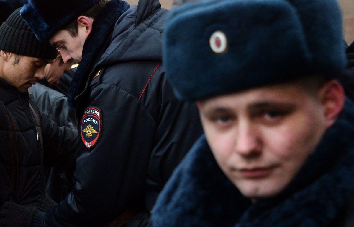 Illustration d'un policier russe. – V.MAXIMOV / AFP