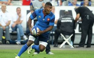 France player's Noa Nakaitaci during the Rugby friendly game, France vs England at Stade de France, Saint-Denis, France  - 22/08/2015/JEFFROYGUY_fra_eng_62/Credit:JEFFROY GUY/SIPA/1508231959