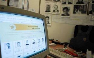 L'office national des personnes recherchées ou en fuite, à Nanterre.