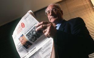 François-Régis Hutin, ancien patron du journal Ouest-France.