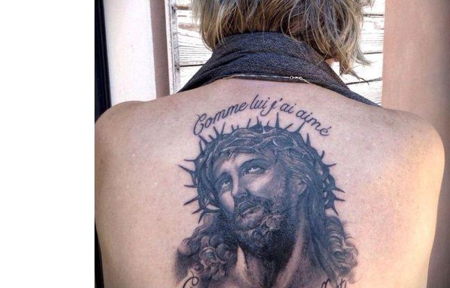 Le Christ ressuscité sur le dos de Renaud