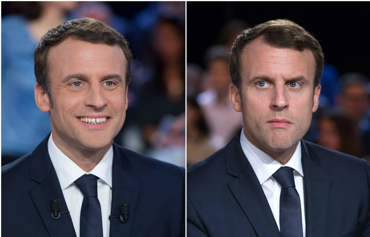 Emmanuel Macron – Montage 20 Minutes: CHAMUSSY/SIPA